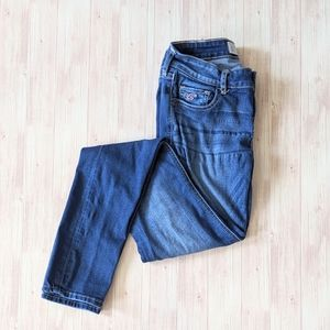 Hollister Low Rise Skinny Jeans (long length)